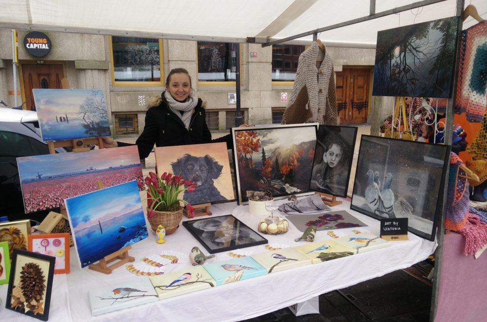 My first market exhibition